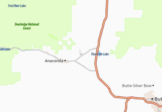 Carte-Plan Anaconda