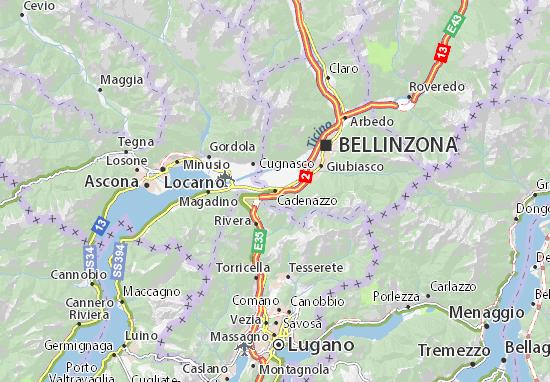 Mapas-Planos Cadenazzo