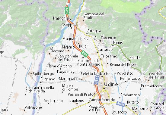 Mappe-Piantine Colloredo di Monte Albano