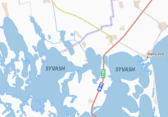 Carte-Plan Vesnyanka