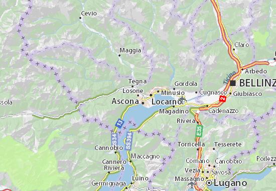 Mappe-Piantine Losone