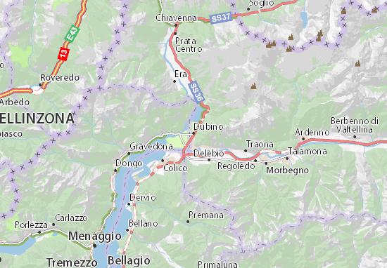 Mappe-Piantine Dubino