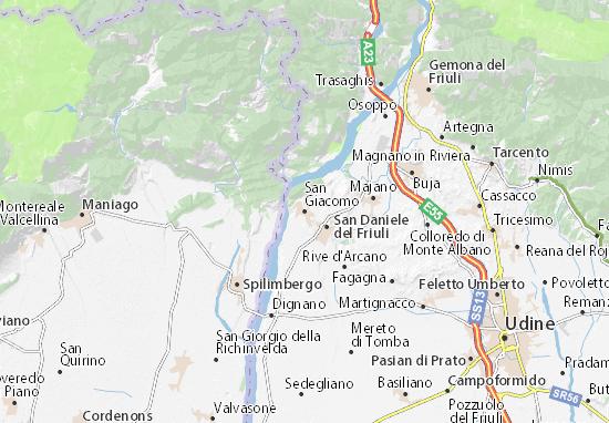 San Giacomo Map