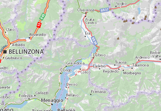 Carte Italie Burano.Carte Detaillee Burano Plan Burano Viamichelin
