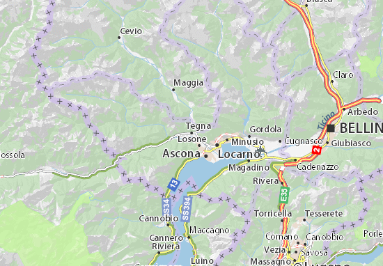 Mappe-Piantine Tegna