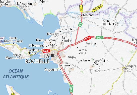 Mapas-Planos Dompierre-sur-Mer