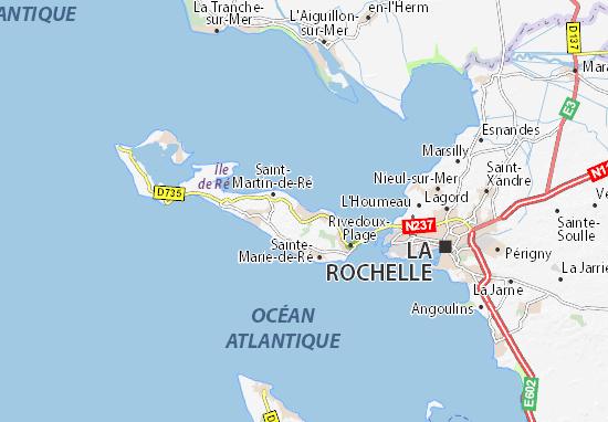 La Flotte Map