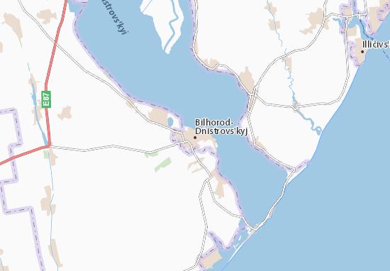 Mappe-Piantine Bilhorod-Dnistrovs'kyj