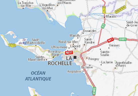 Mapa Plano L'Houmeau
