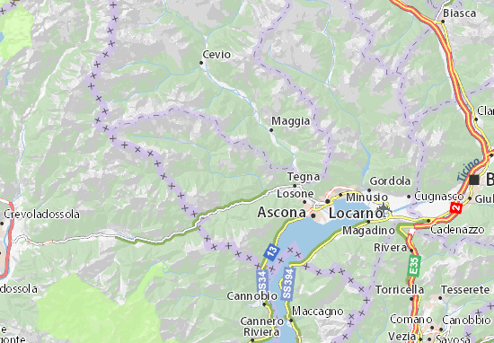 Loco Map: Detailed maps for the city of Loco - ViaMichelin Map Loco on