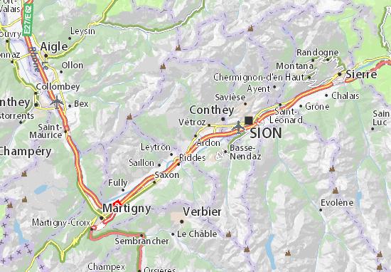 Mapa Plano Ardon