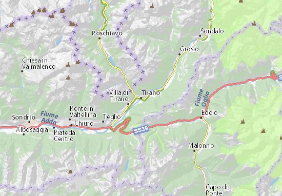 Mapa Plano Tirano