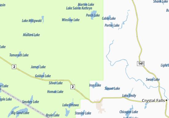 Carte-Plan Gibbs City