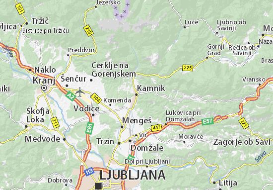 Mapas-Planos Kamnik