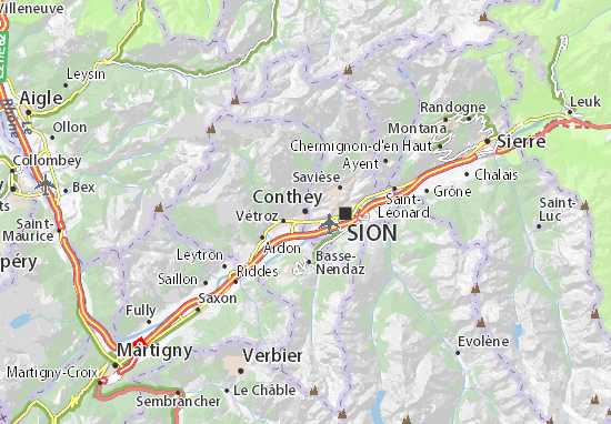 Mappe-Piantine Conthey