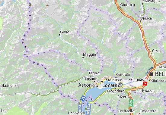 Mappe-Piantine Maggia