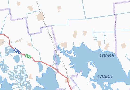 Carte-Plan Pershokostyantynivka