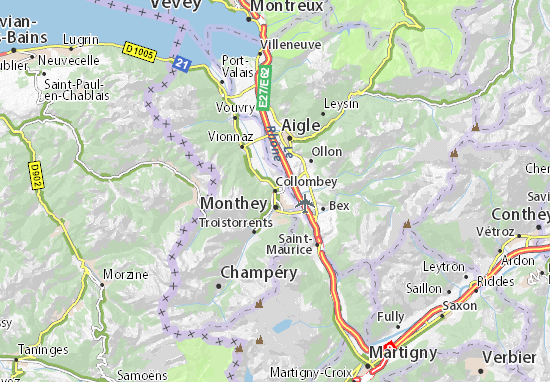 Mappe-Piantine Collombey
