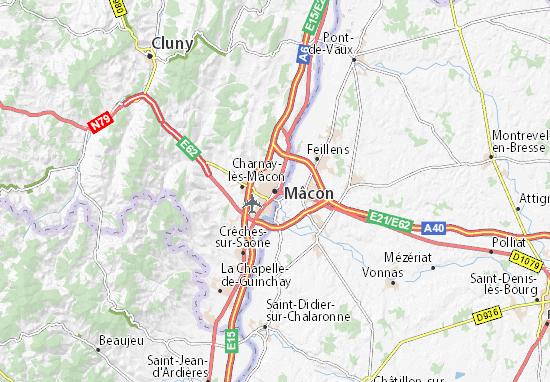 Mâcon Map
