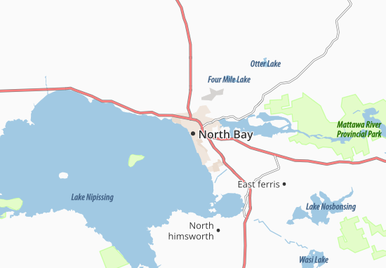 North Bay Map