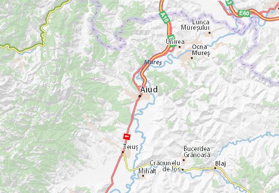 Aiud Map