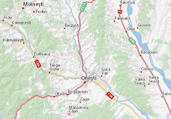 Brătila Map