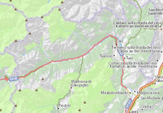Mappe-Piantine Dimaro