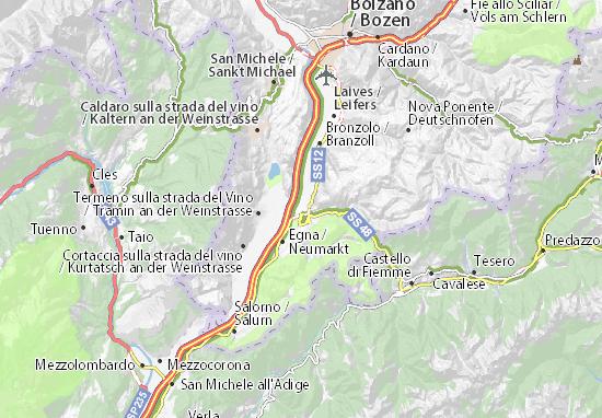 Karte Stadtplan Auer