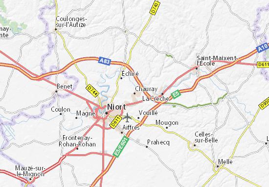 Mapa Plano Chauray