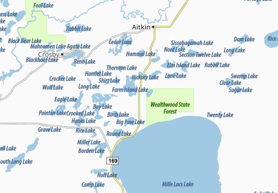 Carte-Plan Bennettville