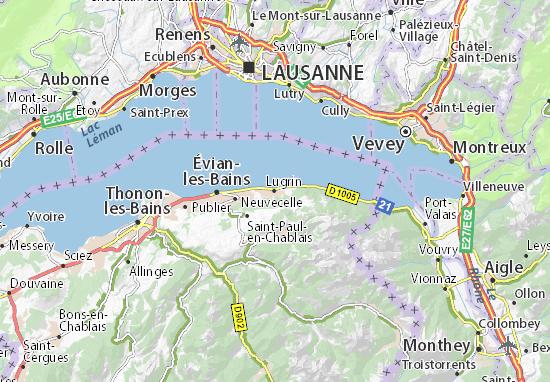 Mapas-Planos Lugrin