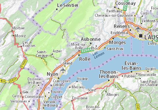 Karte Stadtplan Rolle