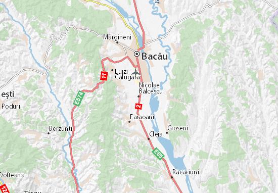 Nicolae Bălcescu Map
