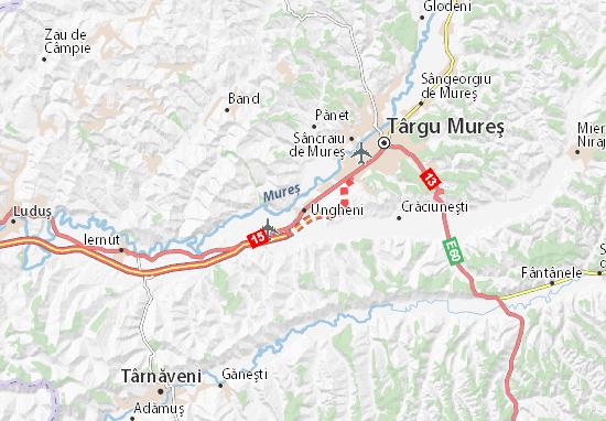 Mapas-Planos Ungheni