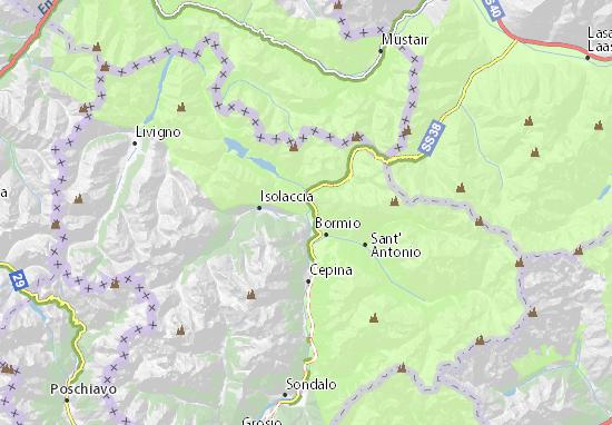 Bormio Italy Map.Premadio Map Detailed Maps For The City Of Premadio Viamichelin