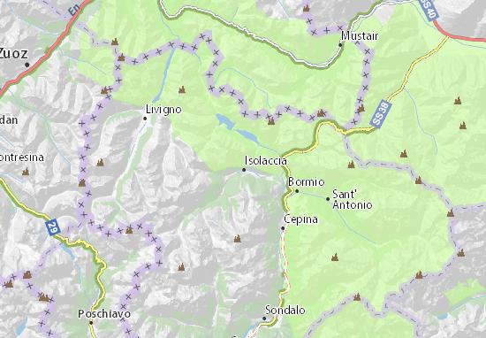 Valdidentro Map