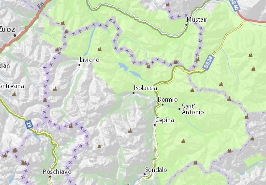 Mappe-Piantine Valdidentro