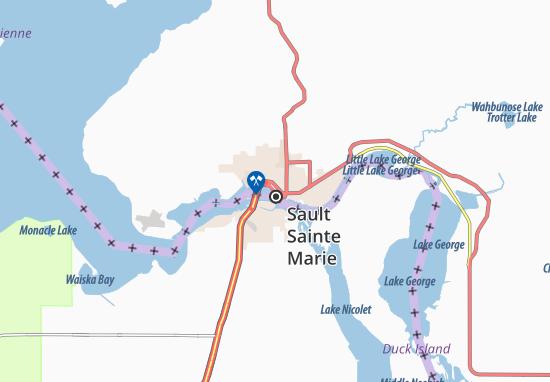 Sault Sainte Marie Map