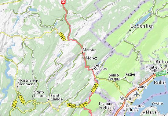 Mapa Plano Morez