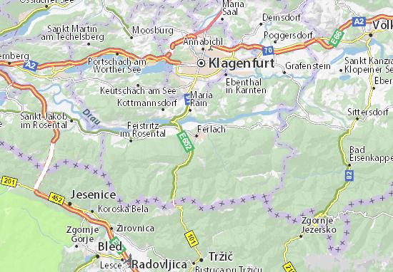 Mappe-Piantine Ferlach