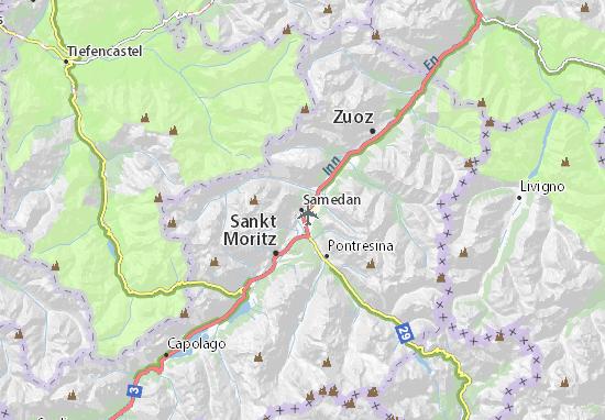 Samedan Map