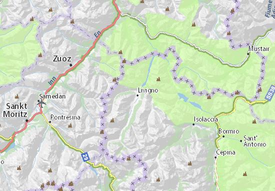 Livigno Map