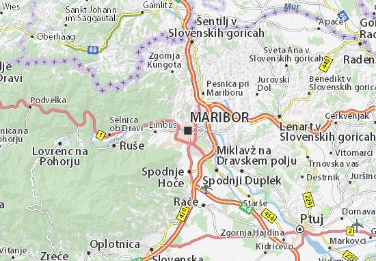 Karte Stadtplan Maribor