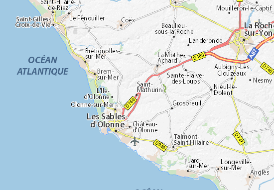 Mappe-Piantine Saint-Mathurin