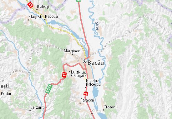 Mapas-Planos Bacău