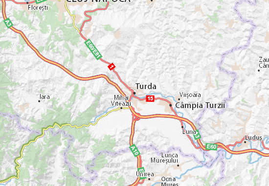 Turda Map