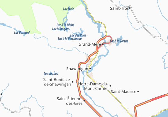Saint-Gérard-des-Laurentides Map