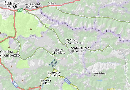 Mappe-Piantine Comelico Superiore