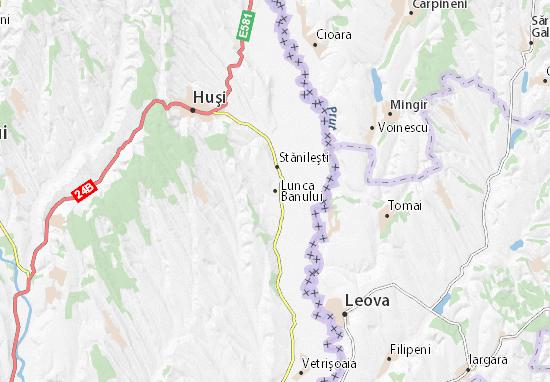 Kaart Plattegrond Lunca Banului