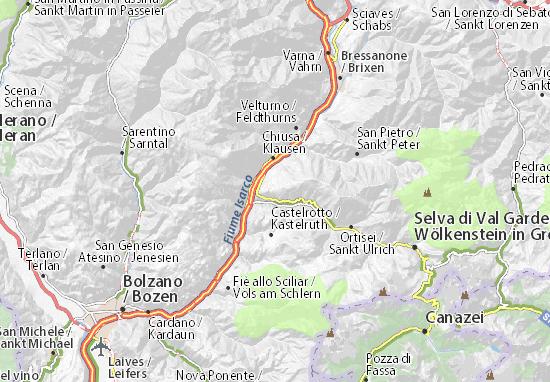 Mappe-Piantine Lajen